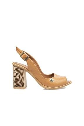 Pierre Cardin Pc-6302 Taba Kadın Sandalet