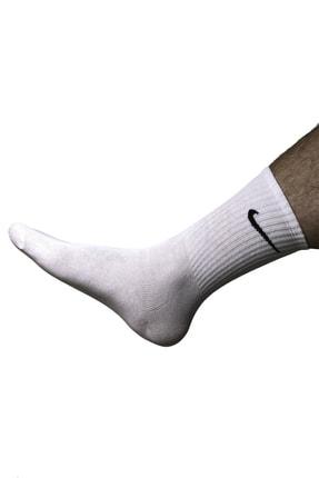 Betül Dedemoğlu 3`lü Unisex Düz Renkli Uzun Sporcu Çorap