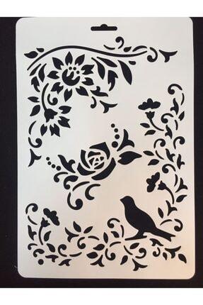 CRAFT HOBİ (meyco) Stencil (şablon) 21x31 Gül 1