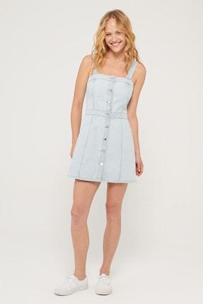 Mavi Kadın Nila Gold Mavi Denim Elbise 131099-35290