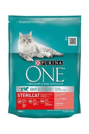 Purina Purina One Kısırlaştırılmış Kedi Somonlu 200 G
