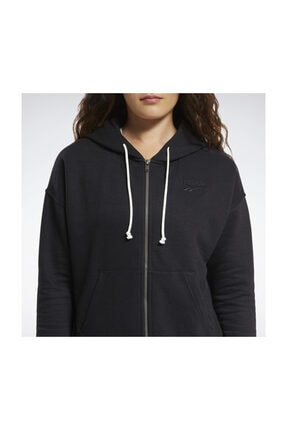 Reebok Kadın Yetişkin Sweatshirt TE Textured Logo Fu FU2241