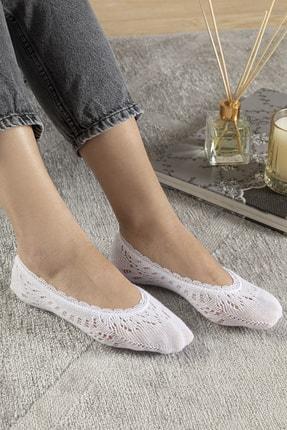 English Home Fairy Pamuk Kadın Çorap Beyaz