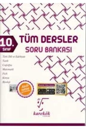 Karekök Yayınları 10. Sınıf Tüm Dersler Soru Bankası