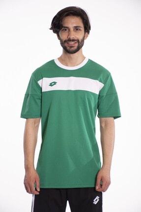 Lotto T-shirt Erkek Yeşil/Beyaz-Lucca Tee Pl