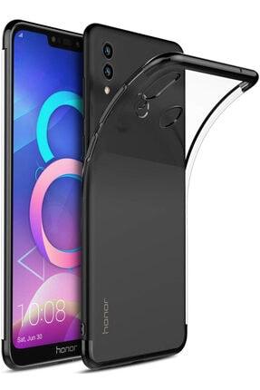 HONOR 8c Kılıf Lazer Boyalı Renkli Esnek Silikon Şeffaf