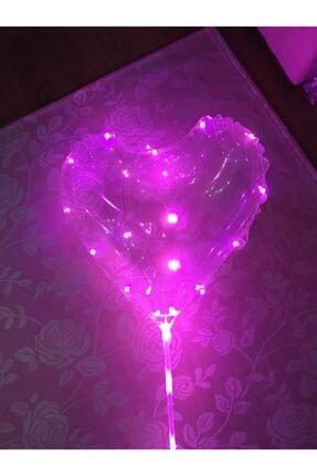 Balon 3m Led Işıklı Şeffaf Kalp
