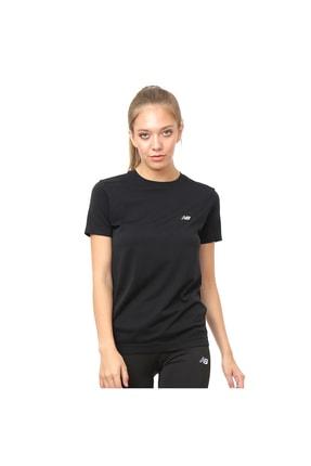 New Balance Pro Tee Siyah Kadın Tişört - Nbtm014-bk