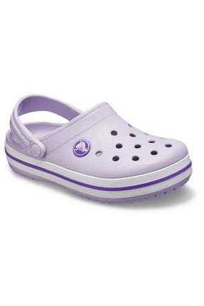Crocs Kids Unisex Çocuk Mor Crocband Clog K Spor Sandalet