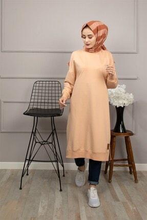 Loreen Soul By Fashion Kadın Bej Tesettür Tunik 30645