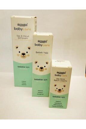 Dermoskin Babycare Saç&vucut Şampuanı+bebek Yağı+saç Derisi Bakım Losyonu