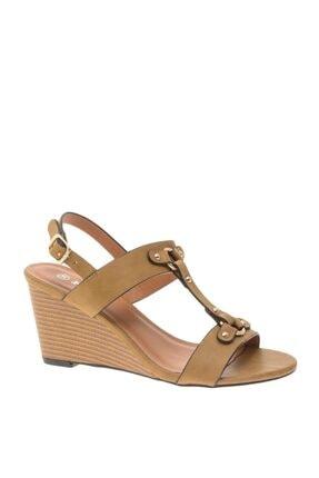 Polaris Dolgu Topuk Ayakkabı