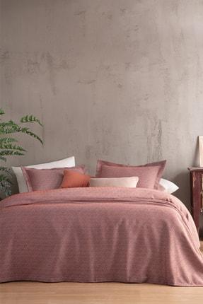 Yataş Bedding Bertin Çift Kişilik Yatak Örtüsü Seti  Tarçın