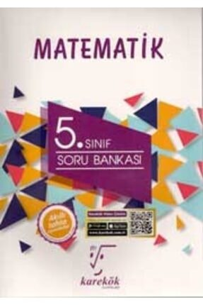 Karekök Yayınları Karekök 5.sınıf Matematik Soru Bankası