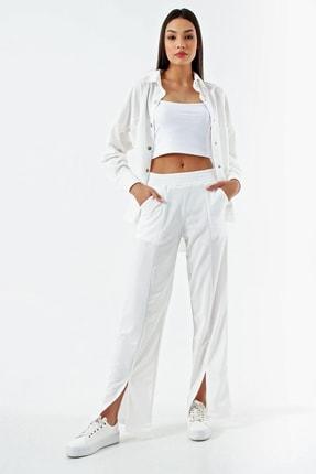 Modakapimda Beyaz Gömlek Yaka Ikili Takım