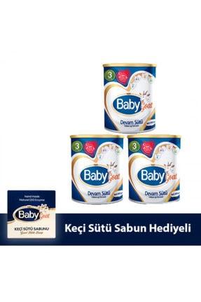 Baby Goat 3 Keçi Sütü Bazlı Devam Sütü 400 gr 3'lü