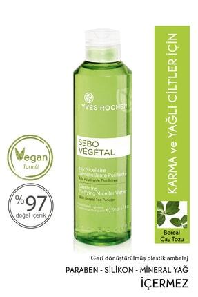 Yves Rocher Sebo Vegetal - Yağ Dengeleyici, Arındırıcı Tonik Etkili Temizleme Suyu - 200ml