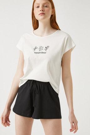 Koton Kadın Siyah Pijama Takımı 1YLK79446MK