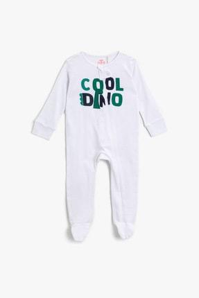 Koton Kids Erkek Bebek Beyaz Bebek Body & Zıbın