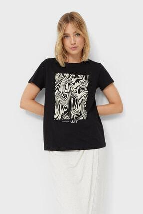 Stradivarius Desenli T-shirt