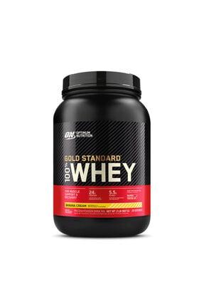 Optimum Nutrition Optimum Gold Standard Whey Protein Tozu 908 Gr + Muz Aromalı