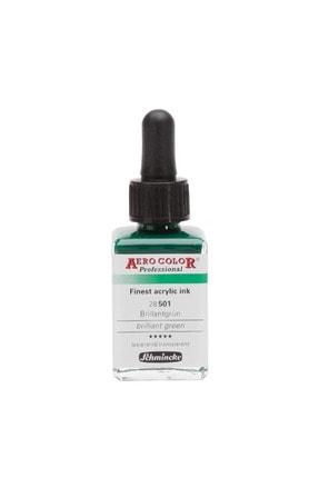 Schmincke Aero Color Akrilik Mürekkep 28 Ml 501 Brilliant Green