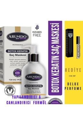 ARUNDO XİR Professional Keratin Onarıcı Saç Botoksu Canlandırıcı Hair Botox 250ml