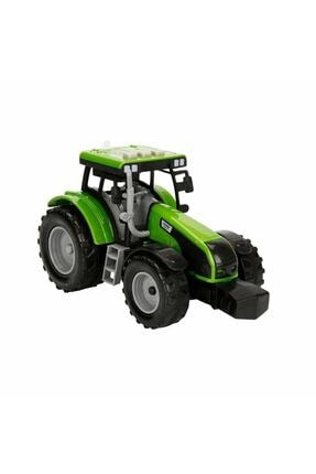 Maxx Wheels Sesli Ve Işıklı Traktör 18 Cm. - Yeşil