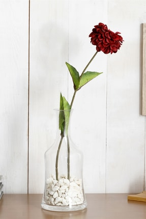 English Home Gerbera Flower Yapay Çiçek 66 Cm Bordo