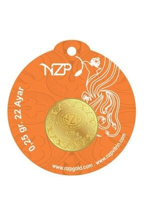 NZP Gold 1 Adet 0.25 Gr 22 Ayar Altın