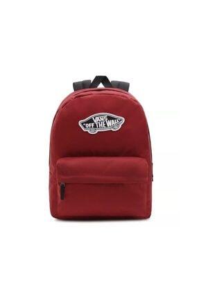 Vans Wm Realm Backpack Sırt Çantası Vn0a3uı6zbs1 Bordo