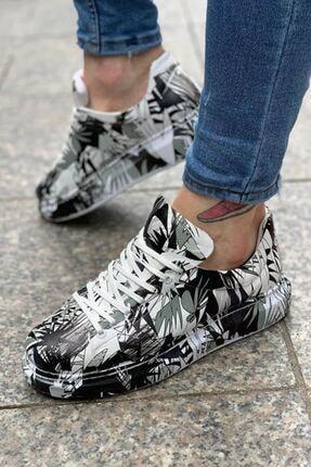 Chekich Erkek Siyah Desenli Ayakkabı Ch255 Bt