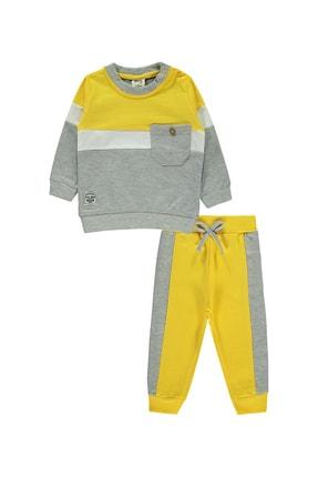 Civil Baby Erkek Bebek Takım 6-18 Ay Sarı