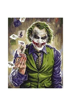 Hobiden Sanata Joker Sayılarla Boyama Seti 40x50 Cm