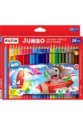 Fatih Jumbo Boya Kalemi 24 Renk Tam Boy Fa33350kb24rtb