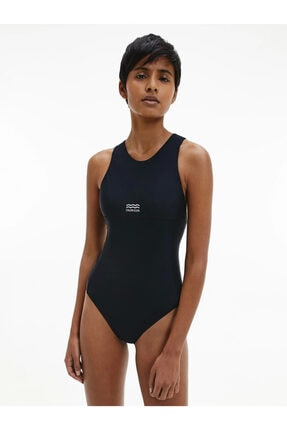 Calvin Klein Kadın Siyah Mayo Kw0kw01338-beh