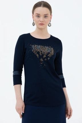 Sementa Kadın Truvakar Kol Taş Detaylı Bluz