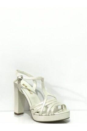 PUNTO Kadın Topuklu Sandalet 624126