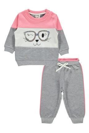 Civil Baby Kız Bebek Takım 6-18 Ay Pembe