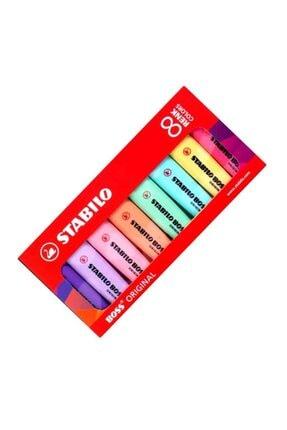 Stabilo Stabılo Fosforlu Kalem Boss 8 Li Pastel