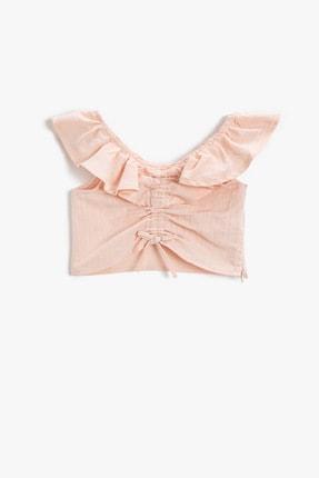 Koton Kids Kız Çocuk Pembe Bluz 1YKG67263AW