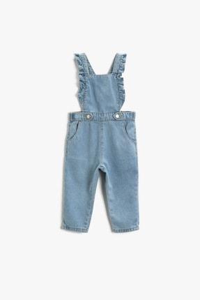 Koton Kız Bebek Orta Indigo Elbise 1YMG49589OD