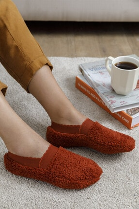 English Home New Soft Kadın Çorap Kiremit