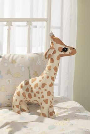 English Home Mini Giraffe Dekoratif Yastık 40x20 Cm Bej