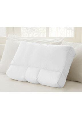 English Home Düz Boncuk Silikon Çift Kullanımlı Yastık 60x40x12 Cm Beyaz