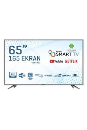 "ONVO OV65351 65"" 165 Ekran Uydu Alıcılı 4K Ultra HD Android Smart LED TV"