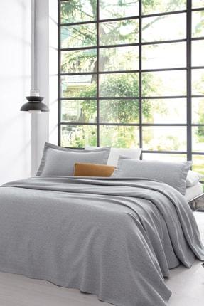 Yataş Bedding Bertin Çift Kişilik Yatak Örtüsü Seti Gri