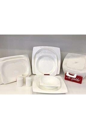 Aryıldız Bone Square Porselen 60prç.yemek Takımı 45004