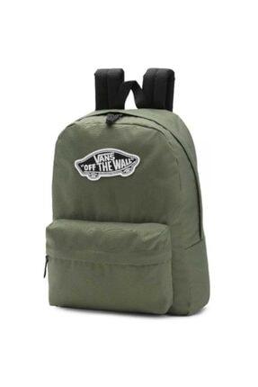 Vans Wm Realm Backpack Kadın Yeşil Sırt Çantası Vn0a3uı67wj1