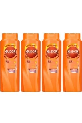 Elidor Anında Onarıcı Bakım Keratin Şampuanı 650 ml *4 Adet